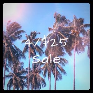4/$25 Sale Going On Now in Closet